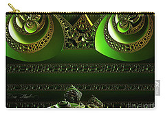 Carry-all Pouch featuring the digital art Mountain Of Siam by Melissa Messick