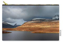 Mountain Pano From Knockan Crag Carry-all Pouch by Grant Glendinning