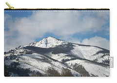 Carry-all Pouch featuring the photograph Mountain Peak by Jewel Hengen