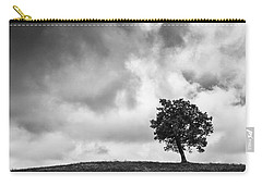Tree On Hill - Doughton Park Blue Ridge Parkway Carry-all Pouch