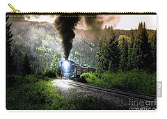 Mountain Railway - Morning Whistle Carry-all Pouch by Robert Frederick
