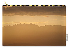 Mountain Shadows Carry-all Pouch by Colleen Coccia