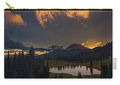 Carry-all Pouch featuring the photograph Mountain Show by Gene Garnace