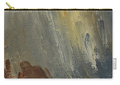 Mountain Side In Autumn Mist. Up To 90x120 Cm Carry-all Pouch