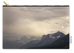 Carry-all Pouch featuring the photograph Mountain Storm by Inge Riis McDonald