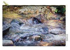Carry-all Pouch featuring the photograph Mountain Stream by Elaine Malott
