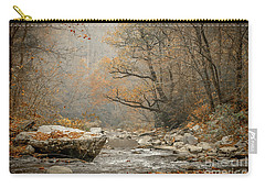 Mountain Stream In Fall #2 Carry-all Pouch