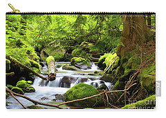 Mountain Stream In The Pacific Northwest Carry-all Pouch