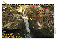Mountain Stream Carry-all Pouch by Rebecca Davis
