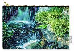 Carry-all Pouch featuring the photograph Mountain Stream by Samuel M Purvis III