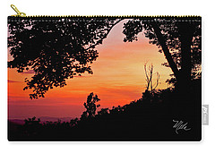 Carry-all Pouch featuring the photograph Mountain Sunrise by Meta Gatschenberger