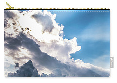 Carry-all Pouch featuring the photograph Mountain Sunset Sightings by Shelby Young