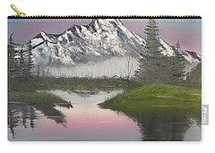 Mountain Sunset Carry-all Pouch by Thomas Janos
