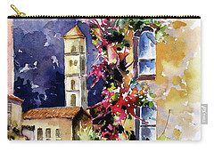 Mountain Town, Spain Carry-all Pouch by Rae Andrews