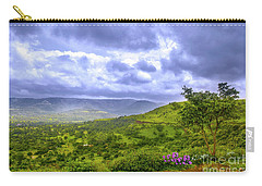 Carry-all Pouch featuring the photograph Mountain View by Charuhas Images
