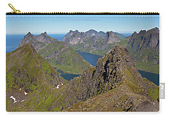 Mountain View From Munken Carry-all Pouch by Aivar Mikko