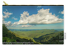 Mountain View From Preachers Rock Carry-all Pouch