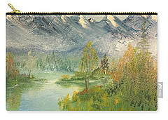 Mountain View Glen Carry-all Pouch