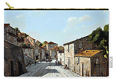 Mountain Village Main Street Carry-all Pouch