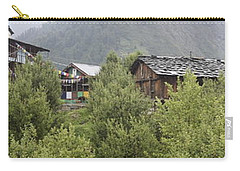 Mountain Village Panorama Carry-all Pouch