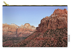 Mountain Vista At Zion Carry-all Pouch