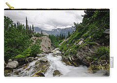 Carry-all Pouch featuring the photograph Mountain Vista by Margaret Pitcher