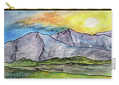 Mountainous Landscape Carry-all Pouch