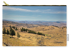 Mountainous Terrain In Central Oregon Carry-all Pouch