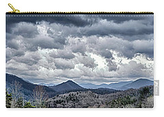Carry-all Pouch featuring the photograph Mountains 1 by Walt Foegelle