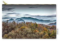 Carry-all Pouch featuring the photograph Mountains 2 by Walt Foegelle