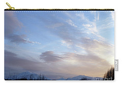 Mountains And Sky Carry-all Pouch