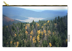 Mountains And Valley Carry-all Pouch by Jill Battaglia