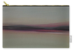 Carry-all Pouch featuring the painting Mountains At Dawn by Michelle Abrams
