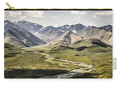 Mountains In Denali National Park Carry-all Pouch