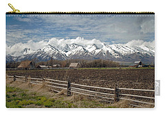 Mountains In Logan Utah Carry-all Pouch