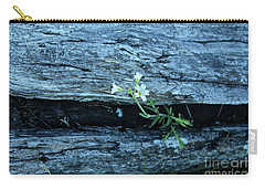 Carry-all Pouch featuring the photograph Mouse Eared Chickweed by Ann E Robson