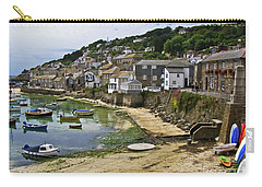 Mousehole Harbour, Cornwall Carry-all Pouch