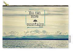 Move Mountains Carry-all Pouch by Robin Dickinson