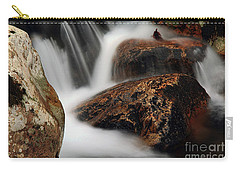 Carry-all Pouch featuring the photograph Moving Along by Darren Fisher
