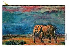 Moving Away Carry-all Pouch by Khalid Saeed