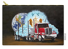 Moving Heaven And Earth  Carry-all Pouch