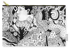 Organic Abstraction Carry-all Pouches