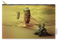 Carry-all Pouch featuring the digital art Moving On by Nathan Wright