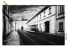 Street Tram Carry-all Pouch by M G Whittingham