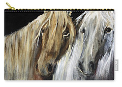 Mozart And The White Wind Horse Carry-all Pouch
