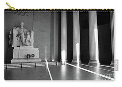 Mr Abe Goes To Washington Carry-all Pouch by John S