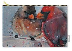 Mr. And Mrs. Cardinal Carry-all Pouch