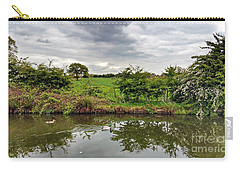 Mr And Mrs Carry-all Pouch by Isabella F Abbie Shores FRSA