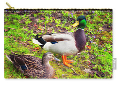 Mr And Mrs Mallard Carry-all Pouch