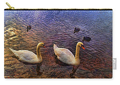 Mr And Mrs Swan Go Viisiting Carry-all Pouch